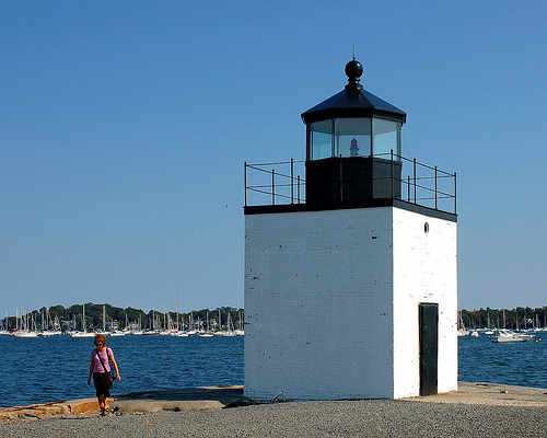 Derby Wharf Lighthouse from flickr