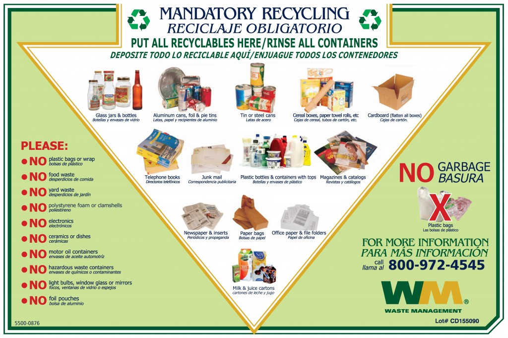 Salem, MA has mandatory recycling. Here's how to figure out what you can recycle.