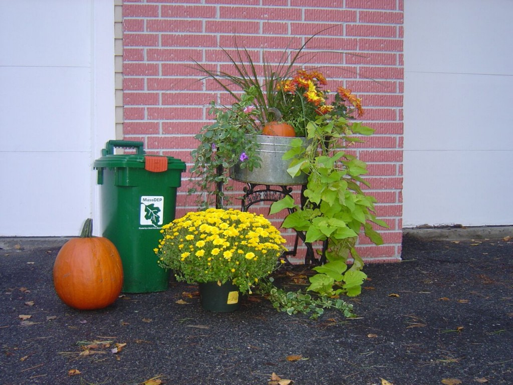 compost fall toter