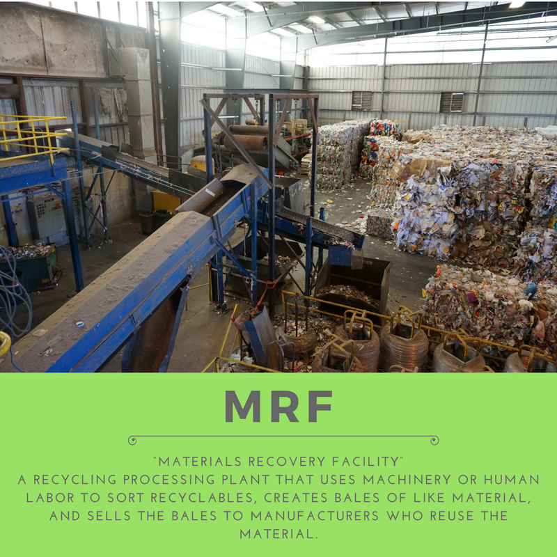 Material Recycling Facility - Recycling Buzzword